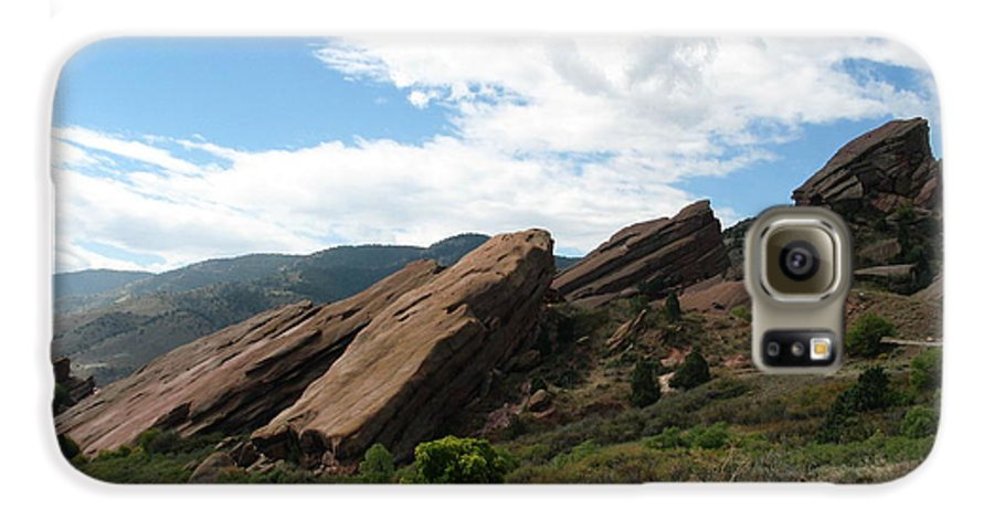 Red Rocks Galaxy S6 Case featuring the photograph Red Rocks Denver by Margaret Fortunato