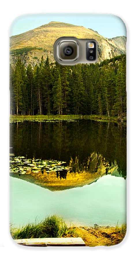 Reflection Galaxy S6 Case featuring the photograph Reflection by Marilyn Hunt