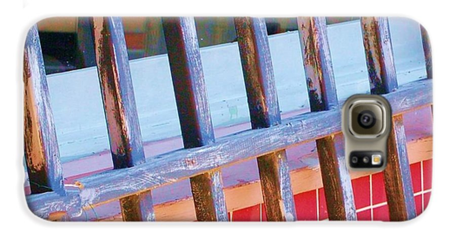 Gate Galaxy S6 Case featuring the photograph Reflections by Debbi Granruth