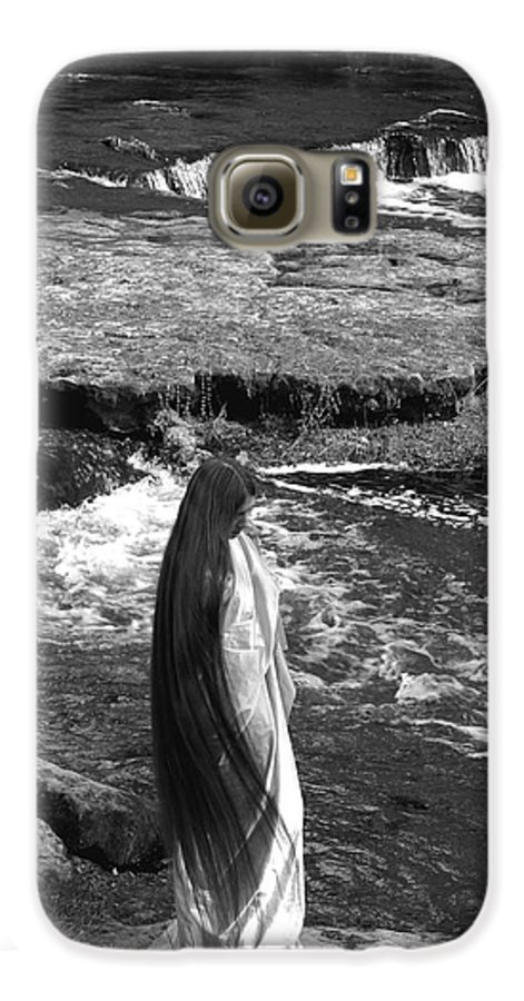 Woman Galaxy S6 Case featuring the photograph Return To The Falls by Debbie May