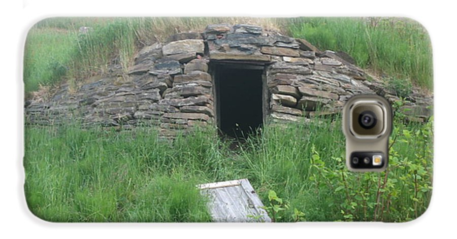 Photograph Cellar Old Green Newfoundland Galaxy S6 Case featuring the photograph Root Cellar by Seon-Jeong Kim