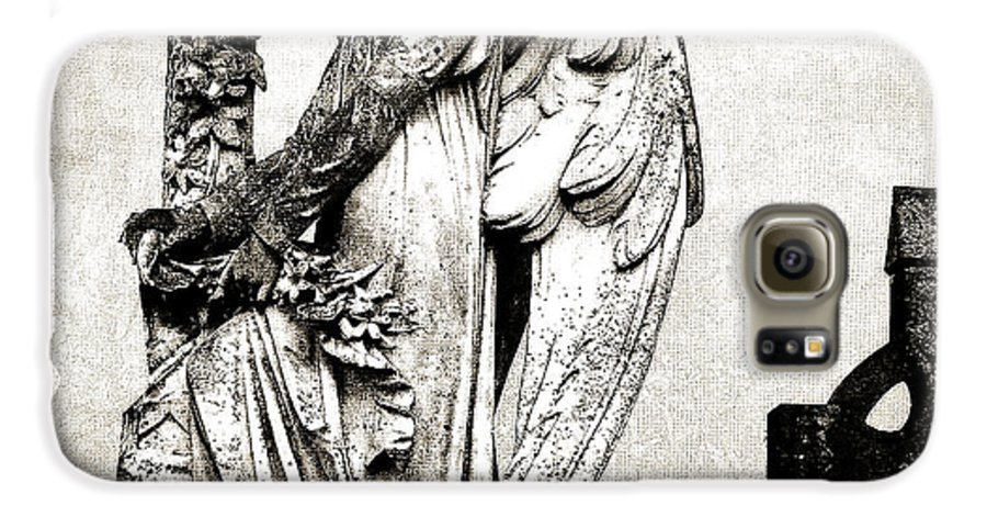 Ireland Galaxy S6 Case featuring the photograph Roscommon Angel No 1 by Teresa Mucha