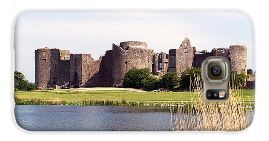 Roscommon Galaxy S6 Case featuring the photograph Roscommon Castle Ireland by Teresa Mucha