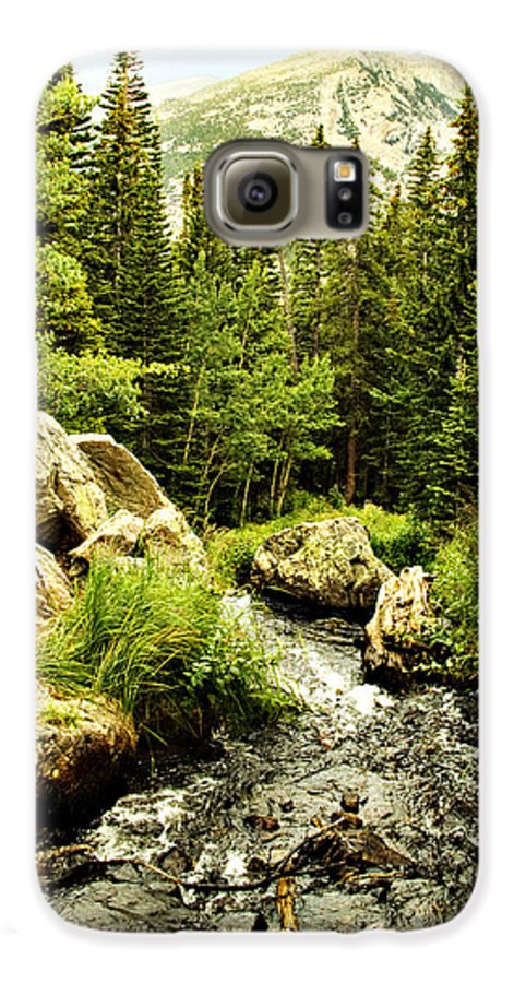 Colorado Galaxy S6 Case featuring the photograph Running River by Marilyn Hunt