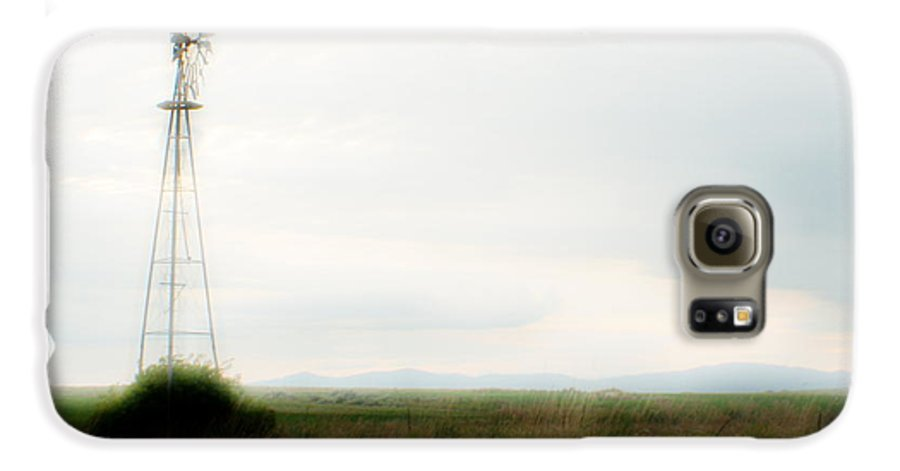 Dream Galaxy S6 Case featuring the photograph Rural Daydream by Idaho Scenic Images Linda Lantzy