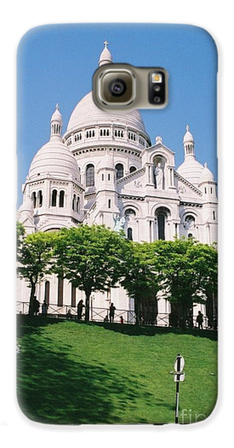 Church Galaxy S6 Case featuring the photograph Sacre Coeur by Nadine Rippelmeyer