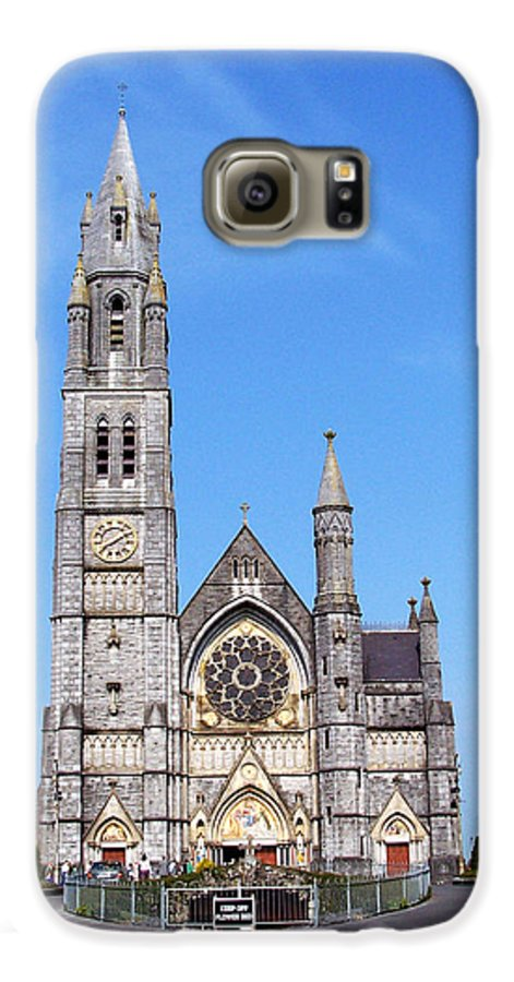 Ireland Galaxy S6 Case featuring the photograph Sacred Heart Church Roscommon Ireland by Teresa Mucha