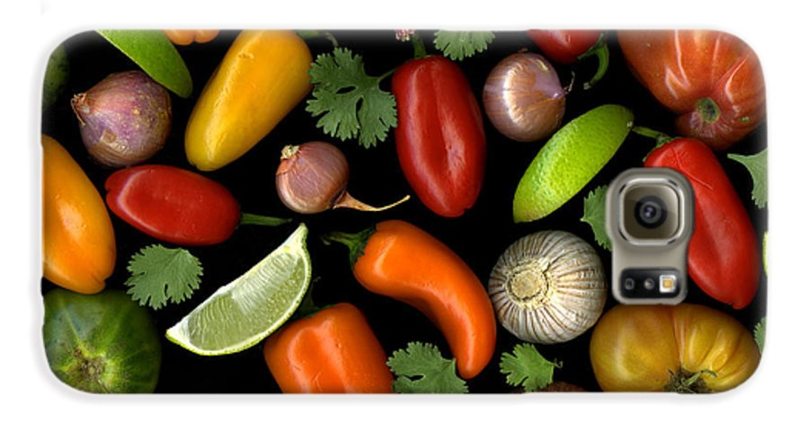 Culinary Galaxy S6 Case featuring the photograph Salsa by Christian Slanec