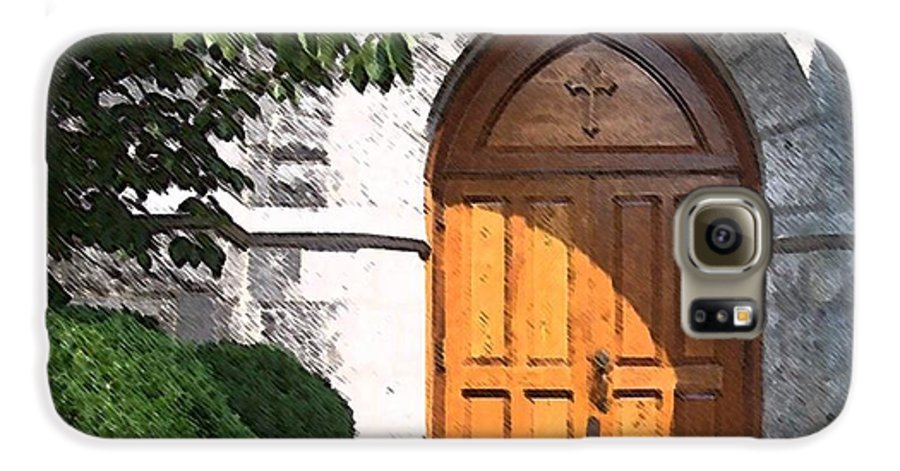 Church Galaxy S6 Case featuring the photograph Sanctuary by Debbi Granruth