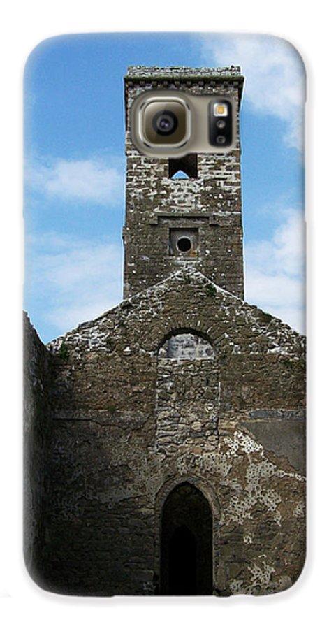 Ireland Galaxy S6 Case featuring the photograph Sanctuary Fuerty Church Roscommon Ireland by Teresa Mucha