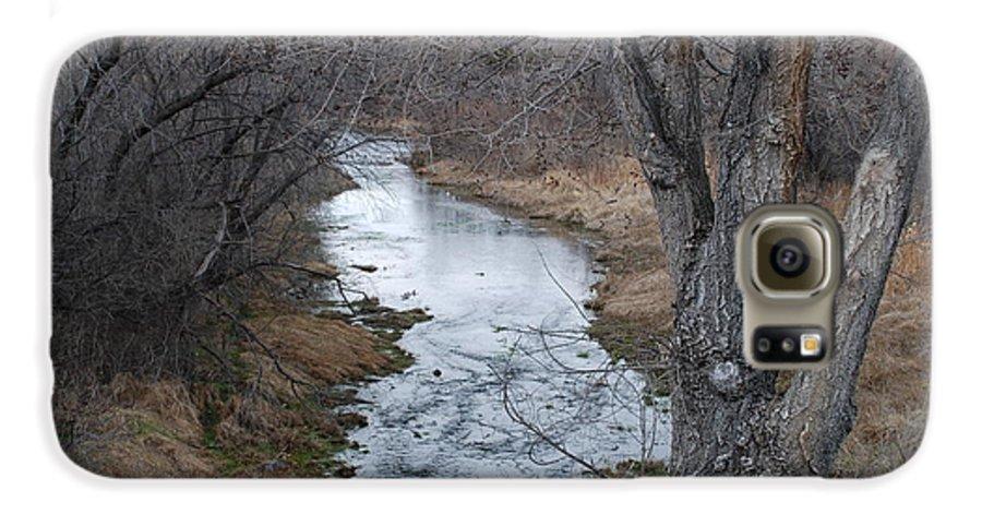 Santa Fe Galaxy S6 Case featuring the photograph Santa Fe River by Rob Hans