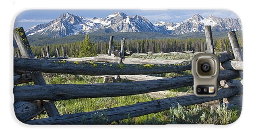 Sawtooth Galaxy S6 Case featuring the photograph Sawtooth Range by Idaho Scenic Images Linda Lantzy