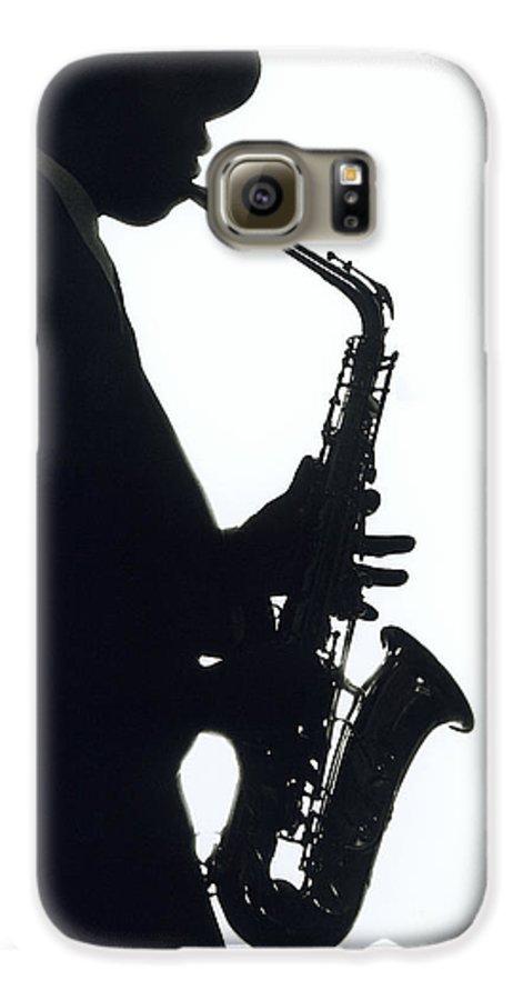 Sax Galaxy S6 Case featuring the photograph Sax 2 by Tony Cordoza