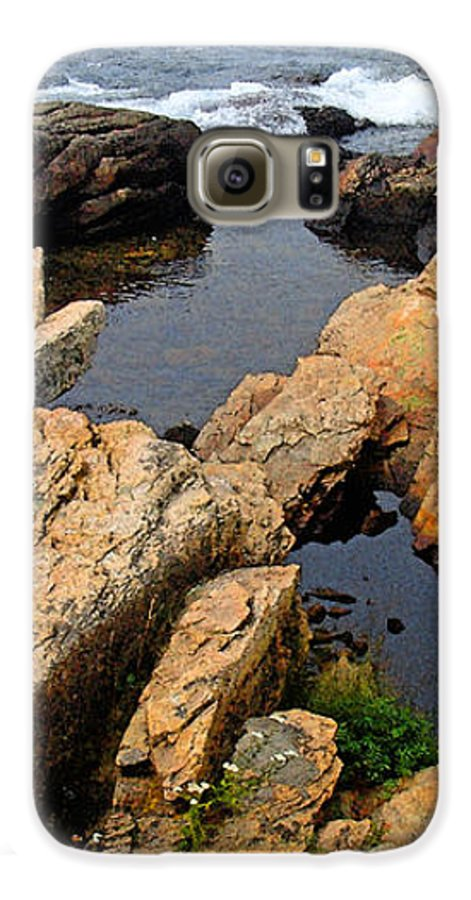 Landscape Galaxy S6 Case featuring the photograph Scoodic Tidepool by Peter Muzyka