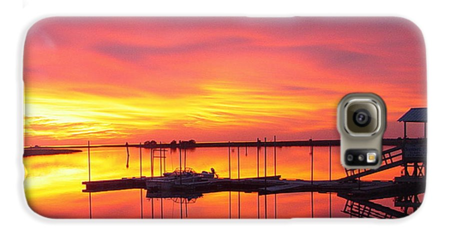 Sunsets Galaxy S6 Case featuring the photograph Seeing Is Believing by Debbie May