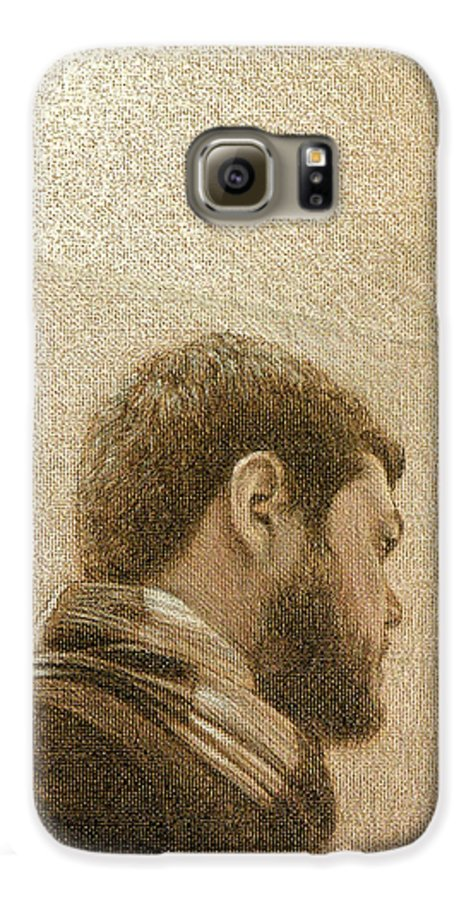 Galaxy S6 Case featuring the painting Self by Joe Velez