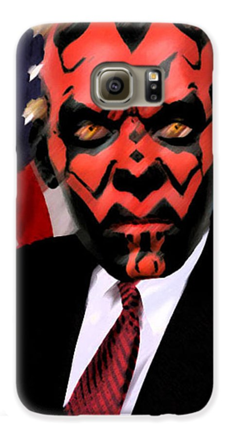Star Wars Galaxy S6 Case featuring the digital art Senator Darth Maul by Eric Forster