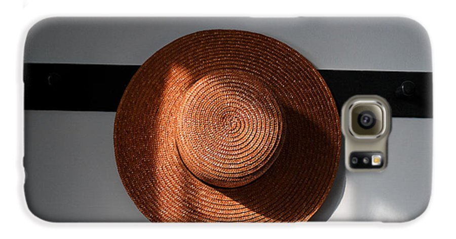 Shaker Galaxy S6 Case featuring the photograph Shaker Hat by Lone Dakota Photography