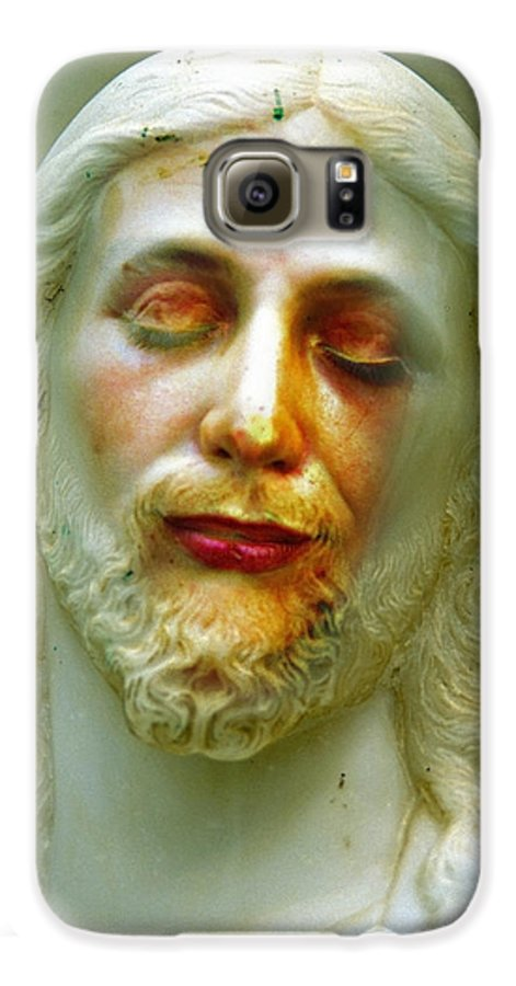 Jesus Galaxy S6 Case featuring the photograph Shesus by Skip Hunt