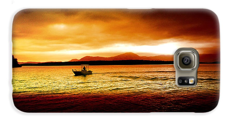 Landscape Galaxy S6 Case featuring the photograph Shores Of The Soul by Holly Kempe