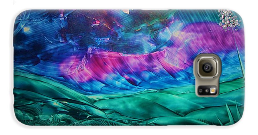 Desert Galaxy S6 Case featuring the print Sierra Vista by Melinda Etzold