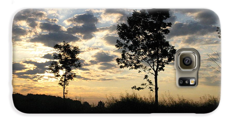 Landscape Galaxy S6 Case featuring the photograph Silhouette by Rhonda Barrett