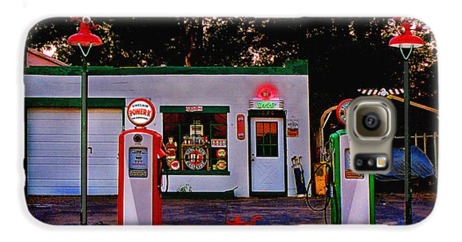 Gas Station Galaxy S6 Case featuring the photograph Sinclair by Steve Karol