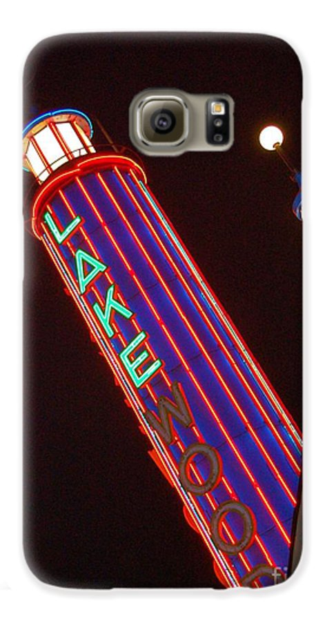 Neon Galaxy S6 Case featuring the photograph Sky Lights by Debbi Granruth