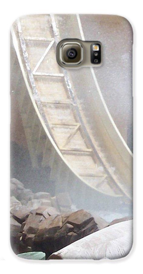 Slide Galaxy S6 Case featuring the photograph Slide Splash by Pharris Art