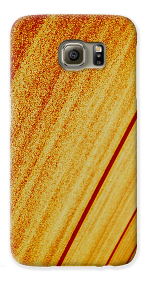 Abstract Galaxy S6 Case featuring the photograph Sod by David Rivas
