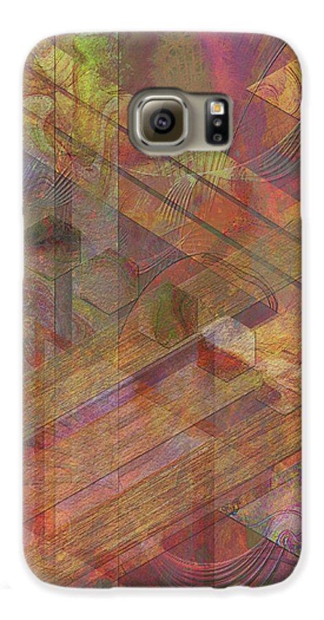 Soft Fantasia Galaxy S6 Case featuring the digital art Soft Fantasia by John Beck