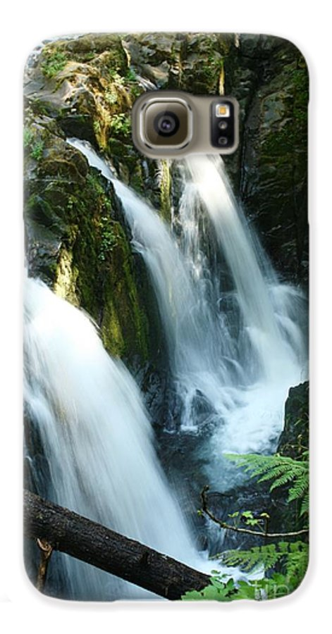 Waterfall Galaxy S6 Case featuring the photograph Sol Duc Falls by Idaho Scenic Images Linda Lantzy