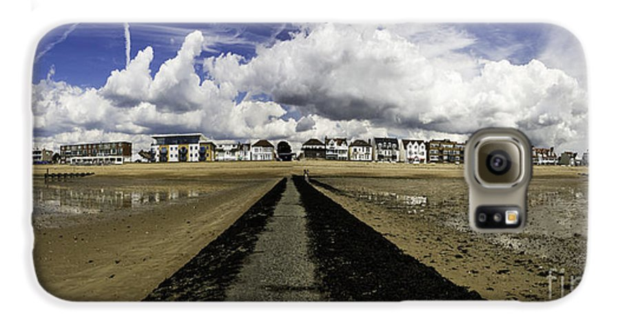 Southend On Sea Galaxy S6 Case featuring the photograph Southend On Sea Panorama by Avalon Fine Art Photography