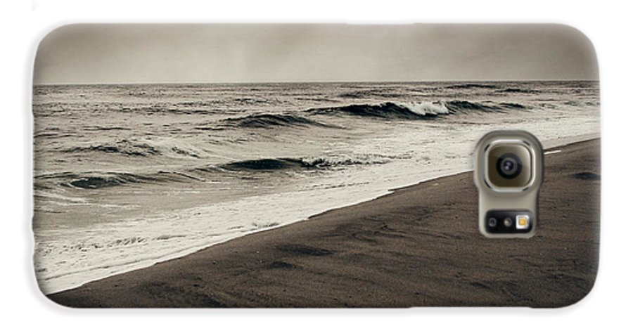 Ocean Galaxy S6 Case featuring the photograph Spending My Days Escaping Memories by Dana DiPasquale
