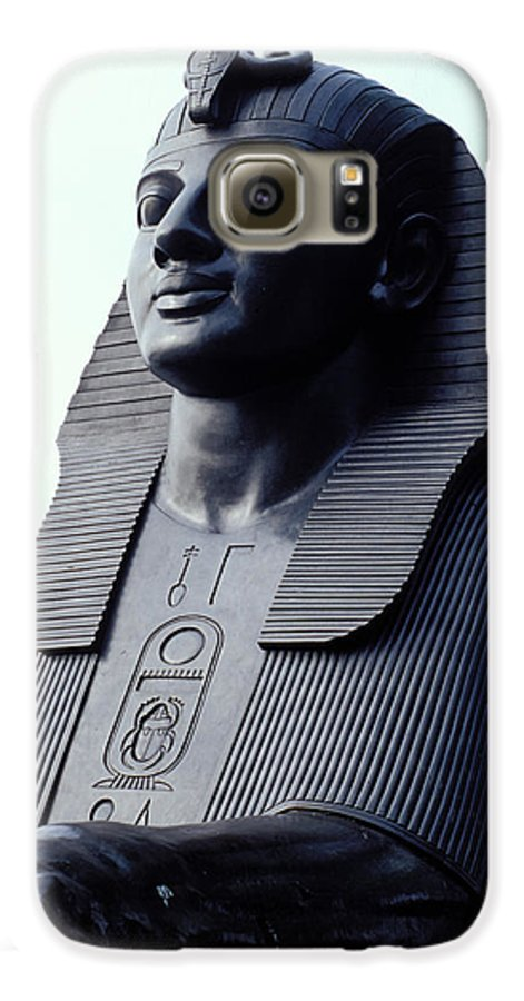 Egypt Galaxy S6 Case featuring the photograph Sphinx In London by Carl Purcell