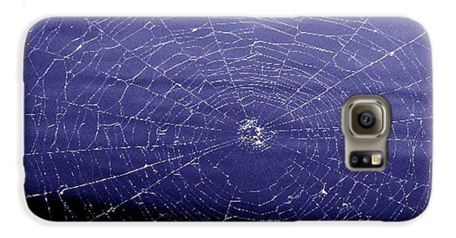 Web Galaxy S6 Case featuring the digital art Spiderweb by Kenna Westerman