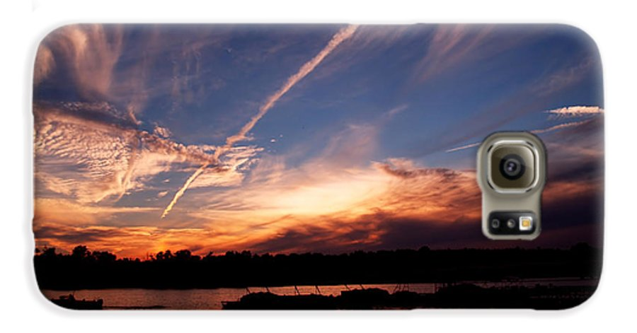Sky Galaxy S6 Case featuring the photograph Spirits In The Sky by Gaby Swanson