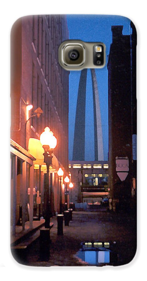 St. Louis Galaxy S6 Case featuring the photograph St. Louis Arch by Steve Karol
