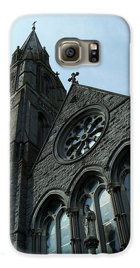 Ireland Galaxy S6 Case featuring the photograph St. Mary's Of The Rosary Catholic Church by Teresa Mucha