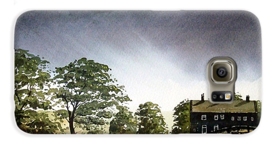 Landscape Galaxy S6 Case featuring the painting Stainland Dean by Paul Dene Marlor