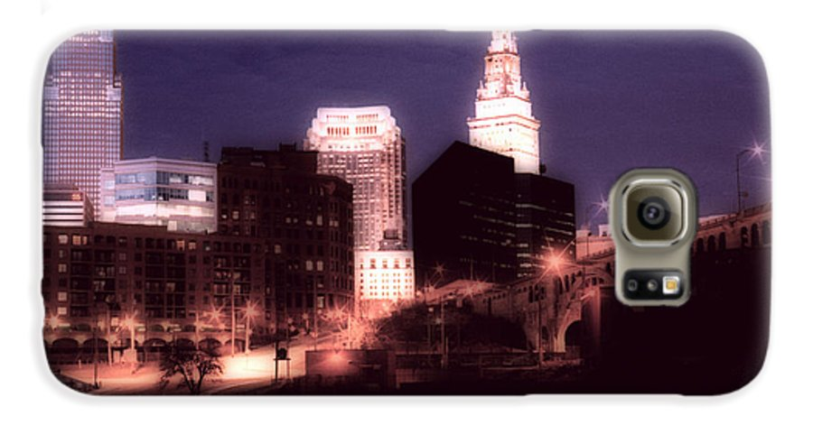 Cleveland Galaxy S6 Case featuring the photograph Standing Tall by Kenneth Krolikowski