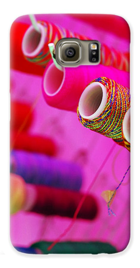 Color Galaxy S6 Case featuring the photograph String Theory by Skip Hunt