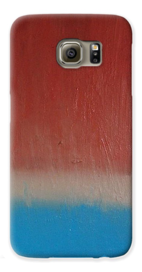 Painting Galaxy S6 Case featuring the painting Sun Rise - Sold by Elizabeth Klecker