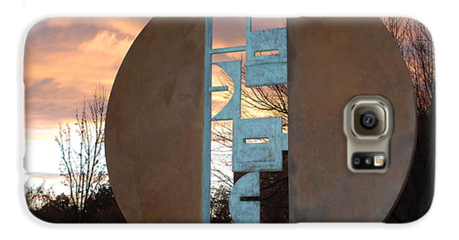 Pop Art Galaxy S6 Case featuring the photograph Sunset Thru Art by Rob Hans
