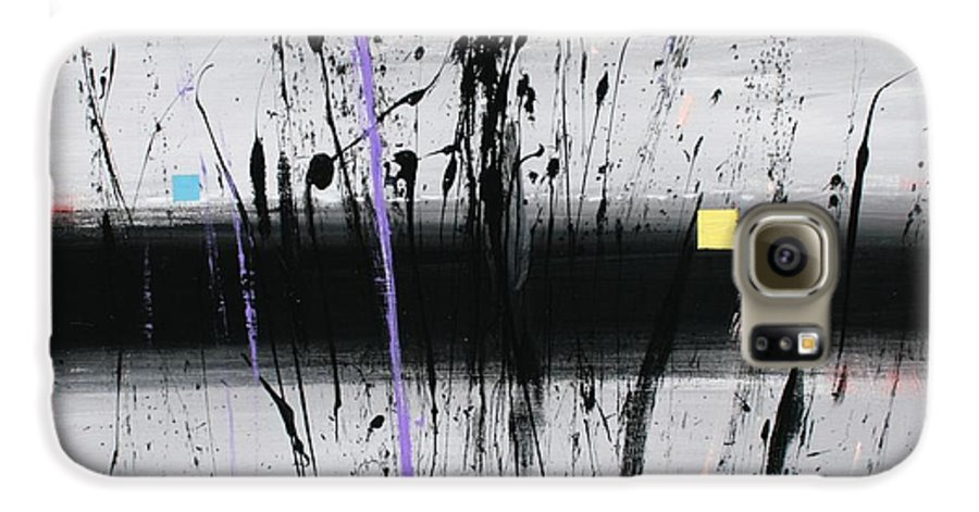 Swamp Galaxy S6 Case featuring the painting Swamp 2008 by Mario Zampedroni