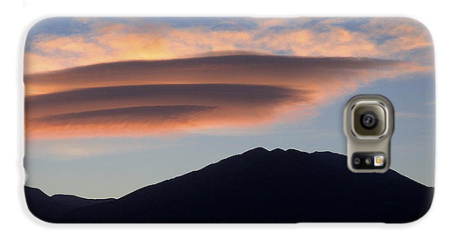 Taos Galaxy S6 Case featuring the photograph Taos Sunset by Jerry McElroy