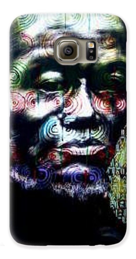 Portrait Galaxy S6 Case featuring the mixed media Tattoo by Chester Elmore