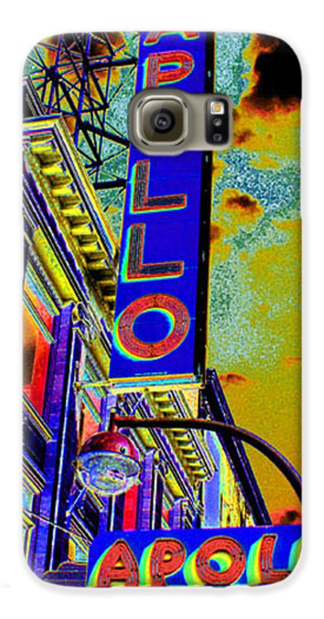 Harlem Galaxy S6 Case featuring the photograph The Apollo by Steven Huszar