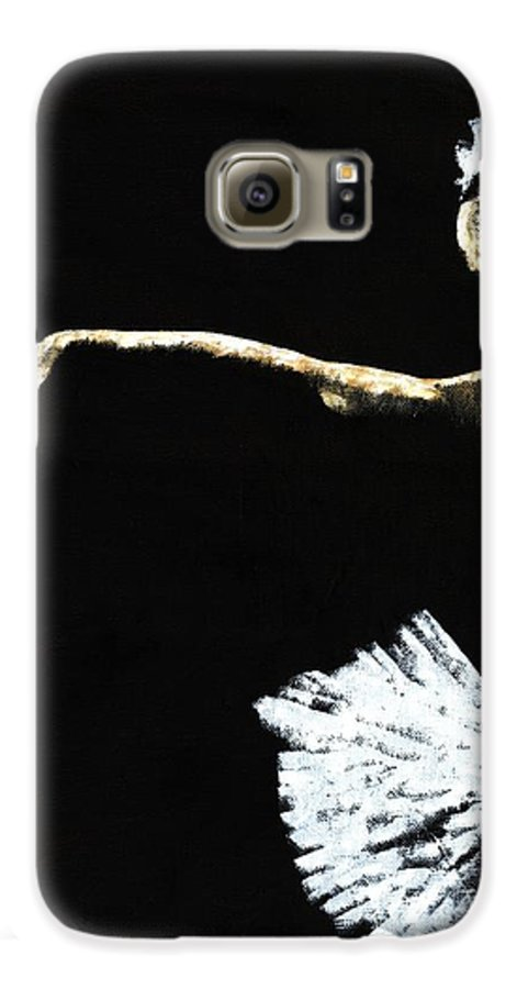 Ballet Galaxy S6 Case featuring the painting The Art Of Grace by Richard Young
