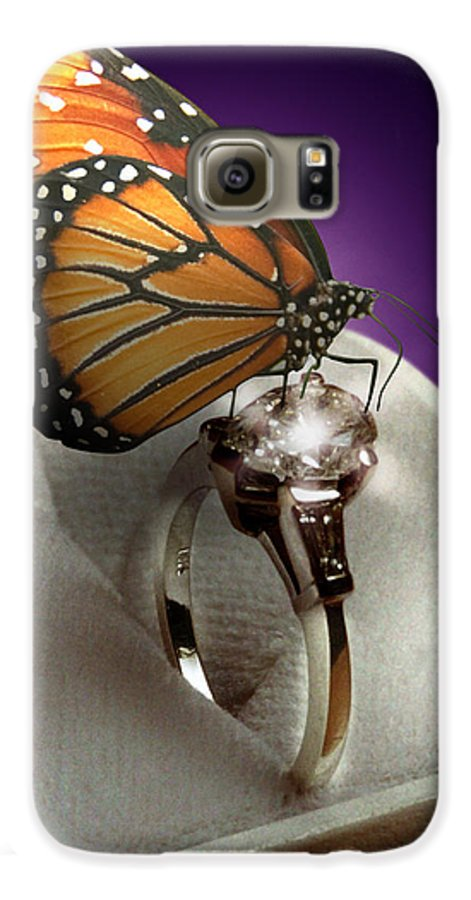 Fantasy Galaxy S6 Case featuring the photograph The Butterfly And The Engagement Ring by Yuri Lev